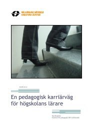 Information om pedagogisk karriärväg (pdf 189 kB) - Mälardalens ...