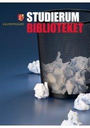 Der er flere oplysninger i studierums-brochuren - Guldborgsund ...