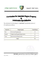 A Ba qa' App ied U iversity - جامعة البلقاء التطبيقية