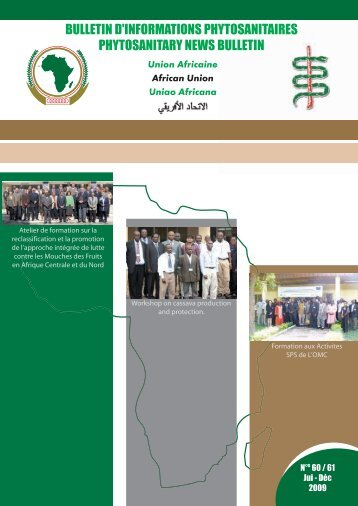 BULLETIN D'INFORMATIONS PHYTOSANITAIRES ... - Union africaine