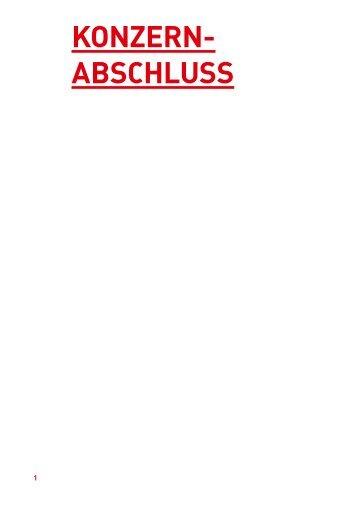 KONZERN- ABSCHLUSS - Strabag