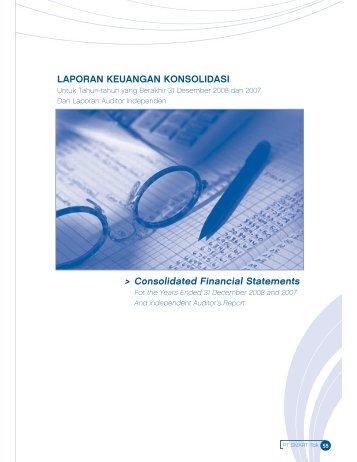 Audited Financial Report - PT SMART Tbk