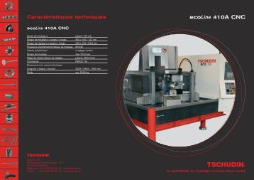 ecoLine 410A CNC - tschudin