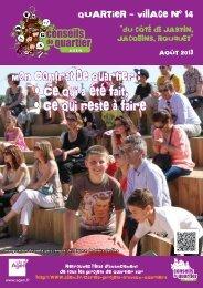 Journal du Quartier-village 14 - Ville d'Agen