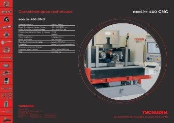 ecoLine 400 CNC - tschudin