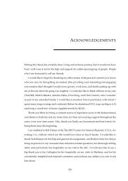 ACKNOWLEDGEMENTS - UCL Astronomy Group