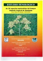 ESTUDIO FENOLOGICO de 28 especies maderables del ... - ITTO