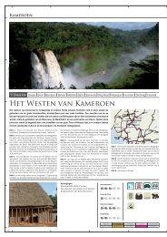 Het Westen van Kameroen - Terre d'Afrique