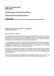 Prof. Dr. Clemens Arzt HWR Berlin Urteilsauszüge für die ...