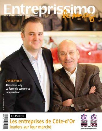 Les entreprises de Côte-d'Or - CCI Côte-d'Or