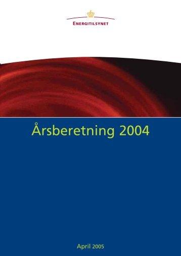 Årsberetning 2004.pdf - Energitilsynet