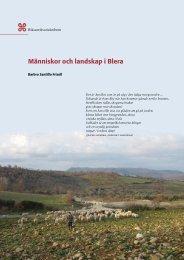 Människor och landskap i Blera - Riksantikvarieämbetet
