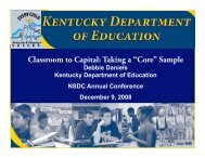 Classroom to Capitol:Taking a 'Core' Sample - WIDE World