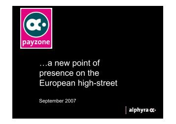 a new point of presence on the European high-street - Mobile Zeitgeist