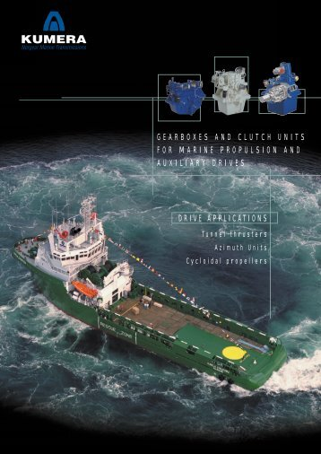GEARBOXES AND CLUTCH UNITS FOR MARINE PROPULSION ...