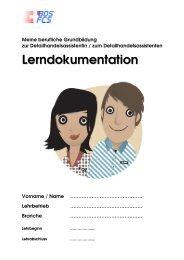 Lerndokumentation DHA - Bildung Detailhandel Schweiz (BDS)
