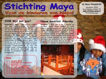 december - Stichting Maya