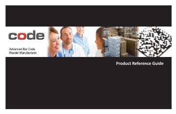 Product Reference Guide - Code Corporation