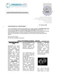 Qualitätsringjournal Neuro 01/2008