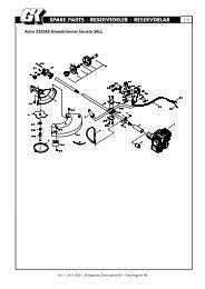 Artnr 530265 Gresstrimmer bensin 28cc