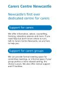 Carers Centre Newcastle - Newcastle City Council - Page 2