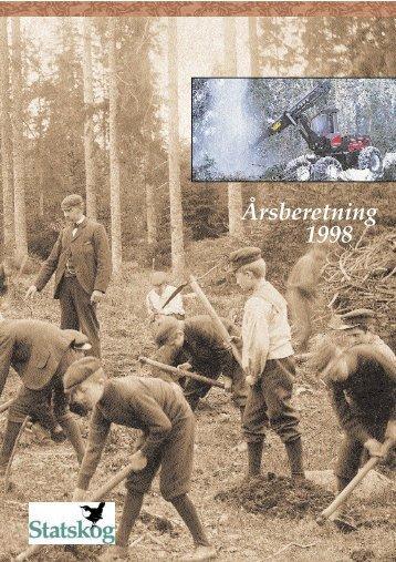 Årsberetning 1998 - Statskog