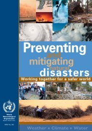 World Meteorological Day 2006 - E-Library - WMO