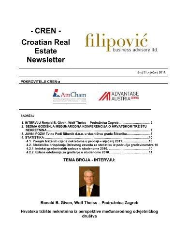 CREN - Filipović poslovno savjetovanje doo