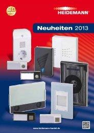 Neuheiten 2013 - Heidemann