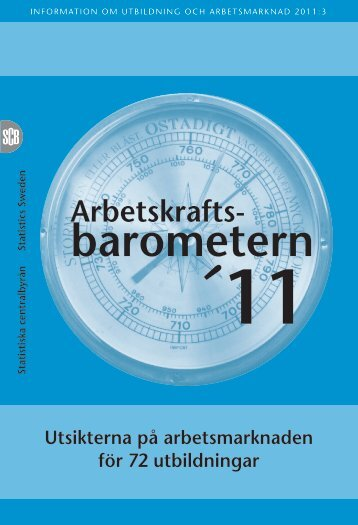 barometern (pdf) - Statistiska centralbyrån