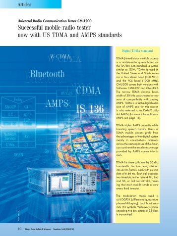 Download article as PDF (0.6 MB) - Rohde & Schwarz