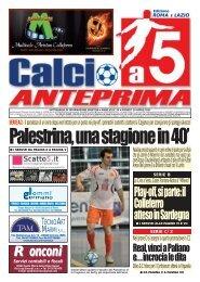calcio a 5 23/12 RM - Calcio a 5 Anteprima