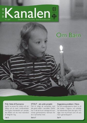 Nummer 3 - Örebro Värmland Dals distrikt - Svenska Missionskyrkan