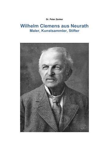Wilhelm Clemens aus Neurath (Normalqualität) - Dr. Peter Zenker