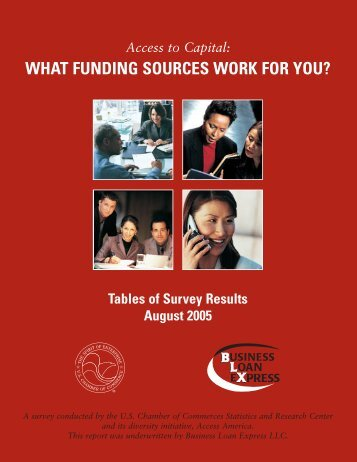 Download the tables of survey results - US Chamber of Commerce