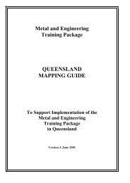 MEM98 Metal and Engineering Mapping Guide - Training ...