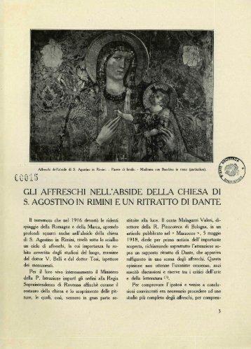 Francesco Filippini - Bollettino d'Arte