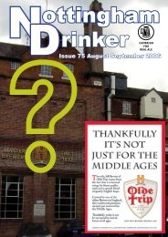 Issue 75 August September 2006 - Nottingham CAMRA