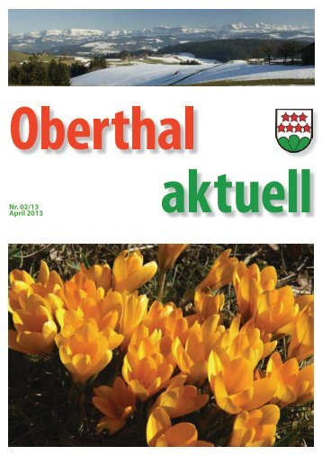 Nr. 02/13 April 2013 - Oberthal
