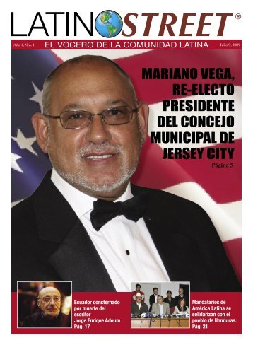 mariano vega, re-electo presidente del concejo ... - LatinoStreet.Net