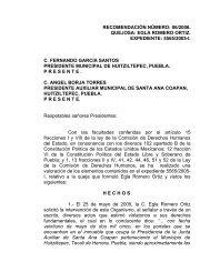 recomendación número: 06/2006. quejosa: egla romero ortiz ...
