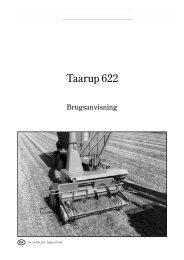 Taarup 622 - Hjallerup Maskinforretning A/S