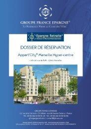 Dossier de Réservation MARSEILLE - EGI Patrimoine
