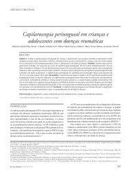 Capilaroscopia periungueal em crianças e adolescentes com ...
