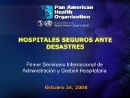 Dr. Bambaren Hospital Seguro Ante Desastres - FEPAS