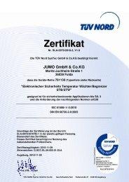 JUMO GmbH & Co.KG - TÜV NORD Gruppe