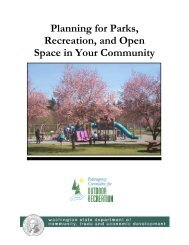 Planning for Parks, Recreation, and Open Space in Your Community