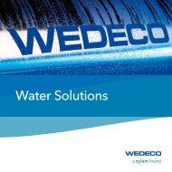 Wedeco Water Solutions Brochure