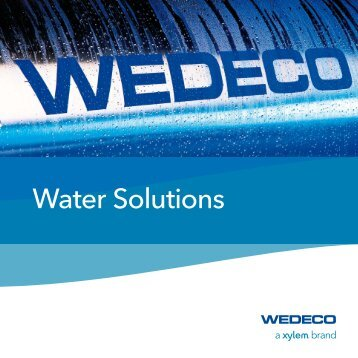 Wedeco Water Solutions Brochure