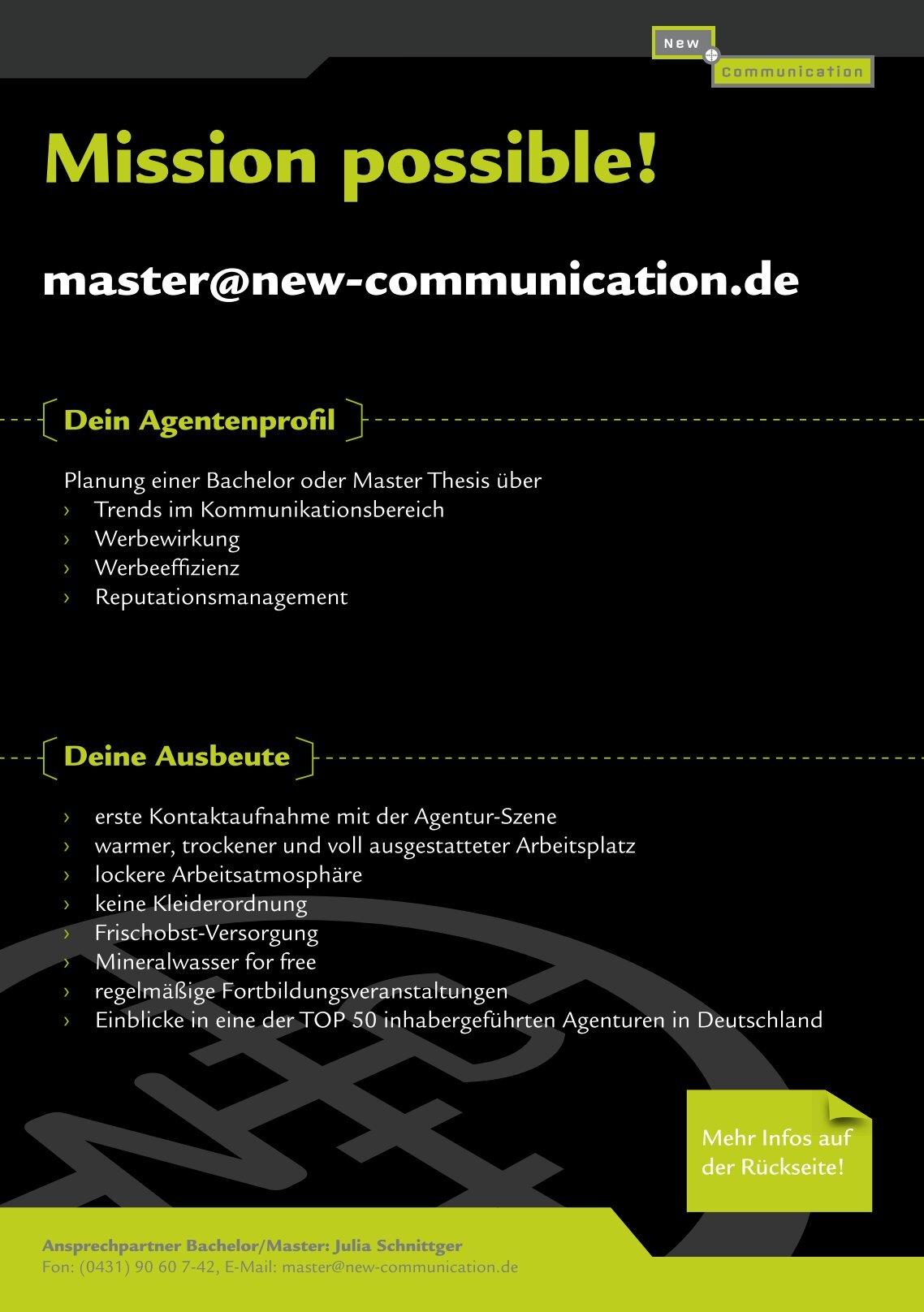 Master thesis on sattelite communications